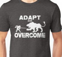 Adapt and Overcome - White Graphic Unisex T-Shirt