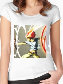 X-Burner Women's Fitted Scoop T-Shirt