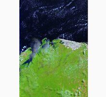 Brazil Lencois Maranhenses National Park Sao Marcos Bay Satellite Image Unisex T-Shirt