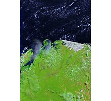 Brazil Lencois Maranhenses National Park Sao Marcos Bay Satellite Image Photographic Print