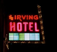 The Lights of the Irving Hotel by Kadwell