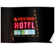 The Lights of the Irving Hotel Poster