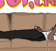 Tyler, The Creator on a couch Sticker