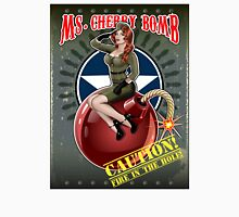 Ms. Cherry Bomb - military pin up girl  Unisex T-Shirt