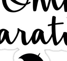 Gilmore Girls - In Omnia Paratus Sticker