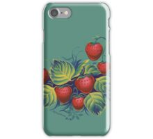 Strawberry glade iPhone Case/Skin