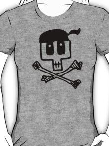Cute Pirate Skull and Cross Bones T-Shirt