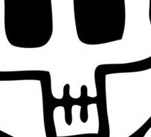 Cute Pirate Skull and Cross Bones Sticker