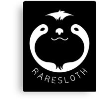 RareSloth Games - White Canvas Print