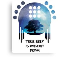 True Self is without Form Canvas Print