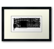 EVGA 1080 SC Framed Print