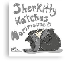 Sherkitty Watches MoriMousey Canvas Print