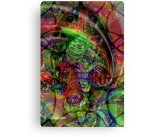 Unique Card Art 25 Canvas Print