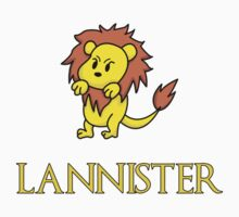 Game of Thrones - House Lannister Sigil Kids Clothes