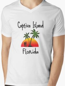 Captiva Island Florida. Mens V-Neck T-Shirt