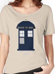 TARDIS Fan items Women's Relaxed Fit T-Shirt