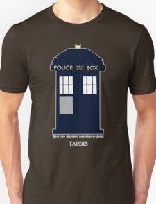 TARDIS Fan items Unisex T-Shirt