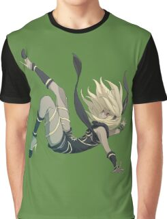 Gravity Rush - Falling Kat Graphic T-Shirt