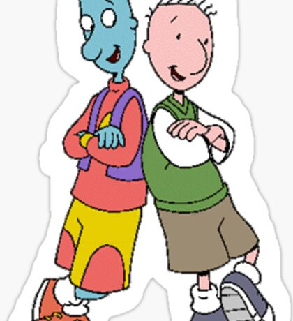 Doug and Skeeter Sticker