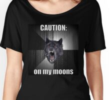Period Warning Women's Relaxed Fit T-Shirt