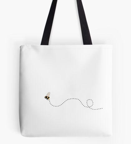 Buzzing Bumble Bee Tote Bag