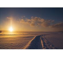 Winter Trails Photographic Print