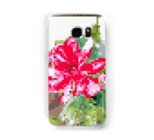 8 bit tongue flower Samsung Galaxy Case/Skin