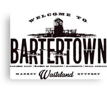 BarterTown Canvas Print