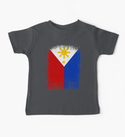 Philippines Flag Pride Baby Tee