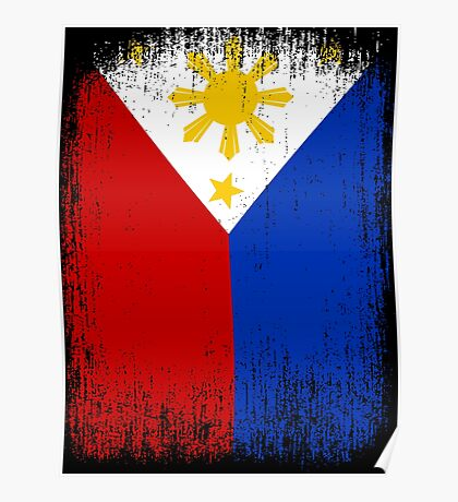 Philippines Flag Pride Poster