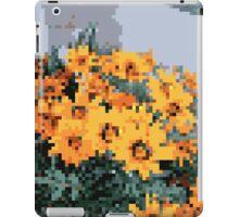 8bit orange things iPad Case/Skin