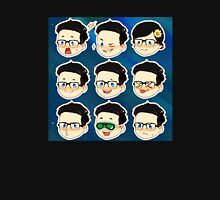 Rhett and Link Faces (Link only ver) Unisex T-Shirt