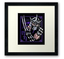 Death Blade Framed Print