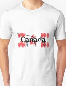 Canadian Flag Logo T-Shirt