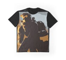 Master Chief Guardians HALO Graphic T-Shirt