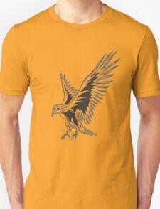 Flying Eagle, grey Unisex T-Shirt