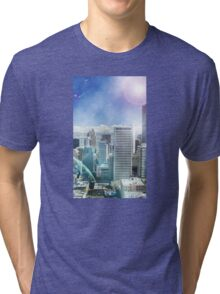 Galaxy Utopia Tri-blend T-Shirt