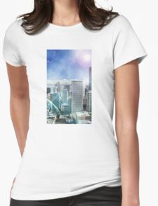 Galaxy Utopia Womens Fitted T-Shirt