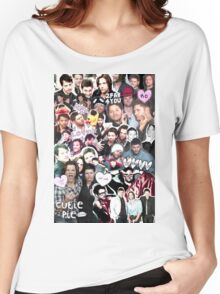 Supernatural Collage Women's Relaxed Fit T-Shirt