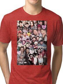 Supernatural Collage Tri-blend T-Shirt