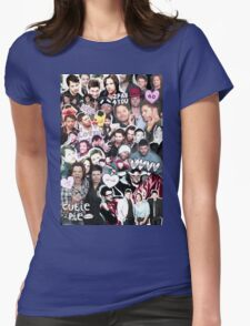 Supernatural Collage Womens Fitted T-Shirt
