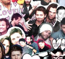 Supernatural Collage Sticker