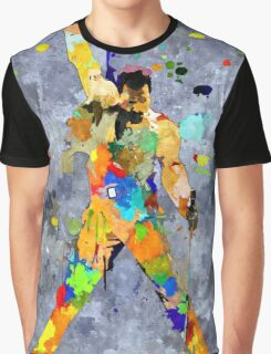 Freddie Grunge Graphic T-Shirt