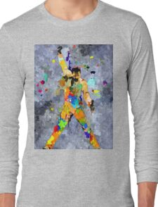 Freddie Grunge Long Sleeve T-Shirt
