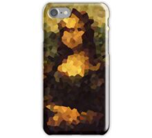 Pixelated Mona Lisa iPhone Case/Skin
