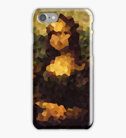 Pixelated Mona Lisa iPhone Case/Skin