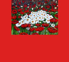 Rubies And Pearls Flowers Daisy Poppy Poppies Daisies Field Wildflowers  Unisex T-Shirt