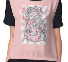 Neko Geisha Chiffon Top