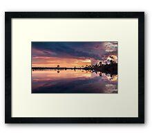 Color Eruption Framed Print