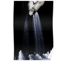 Sand waterfall Poster